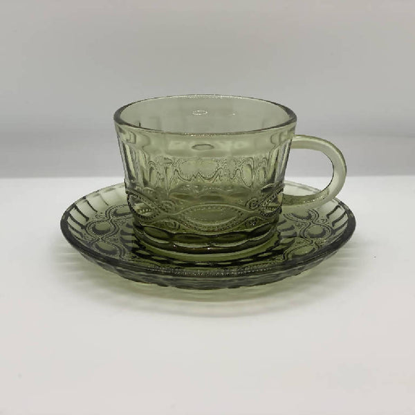 Imperial Turkish Coffee Cup - Green (6 pcs.)