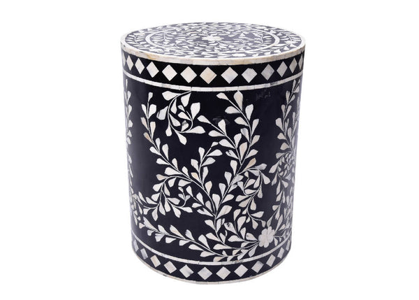 Side table - Bone Inlay