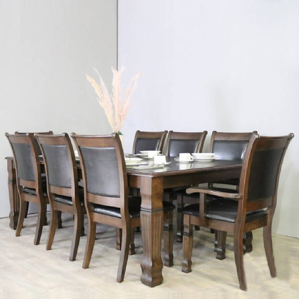 Malaysian Dining Table with 8 Seats