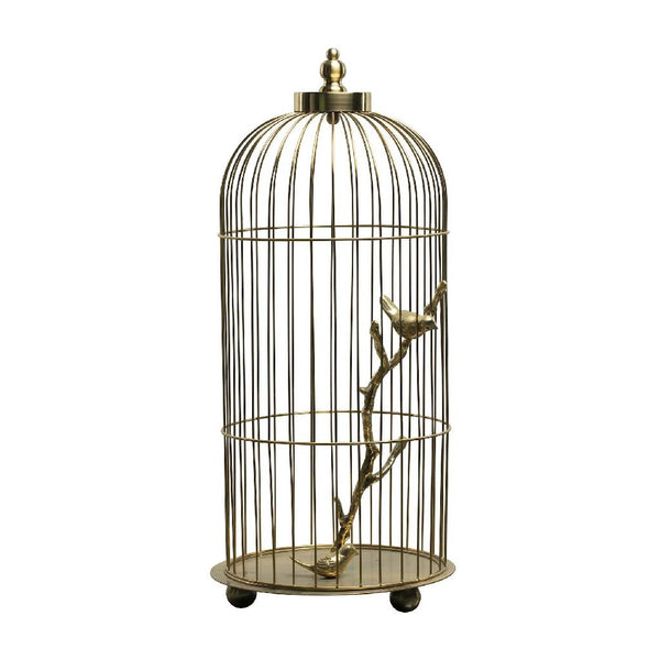 Bird cage accessory - Gold
