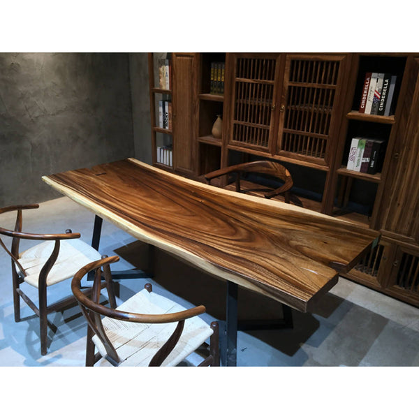 Walnut Slab Dining Table 13