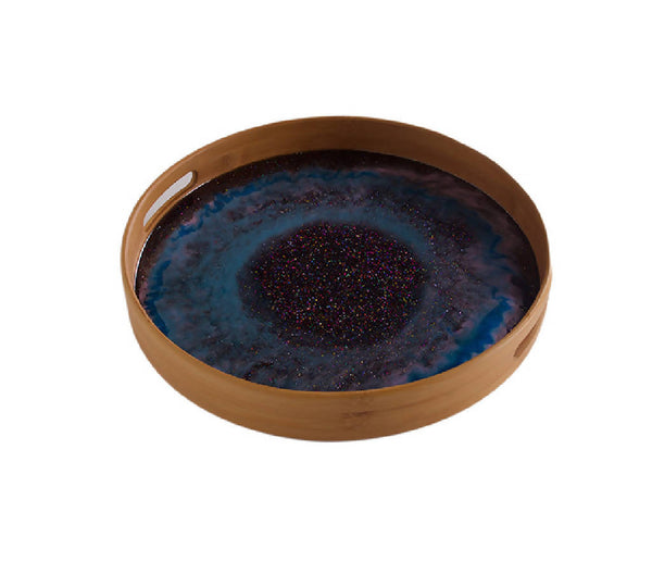 Round Tray - Galaxy ( Two Sizes)