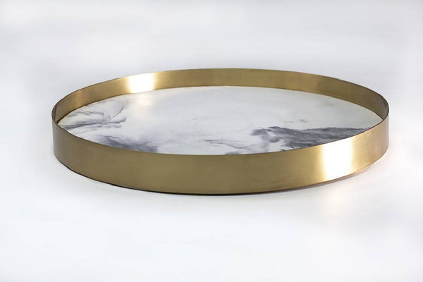 Copper Circular tray