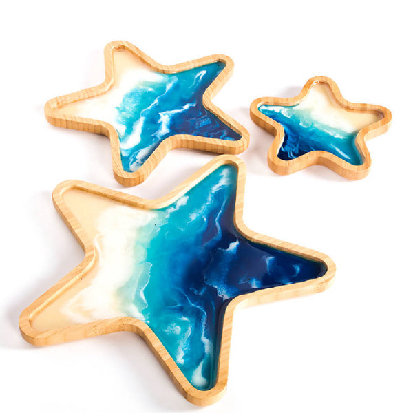 Star Trays - Ocean Blue (3 pcs.)