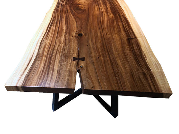Walnut Slab Dining Table 12