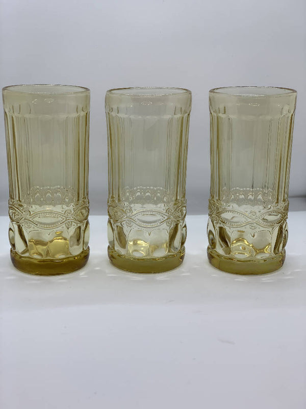 Imperial Drinking Glass - Yellow (6 pcs.)