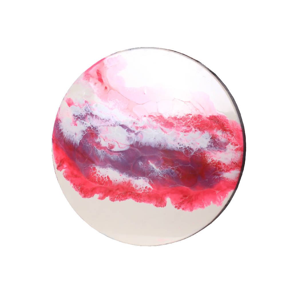 Painting Plexi Pink Marble