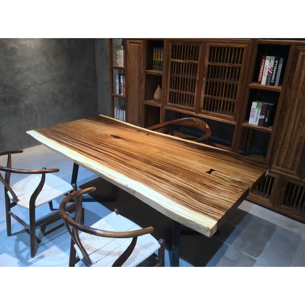 Walnut Slab Dining Table 14