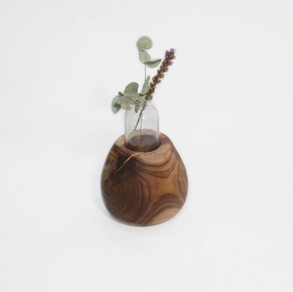 Vase Of Willow Wood