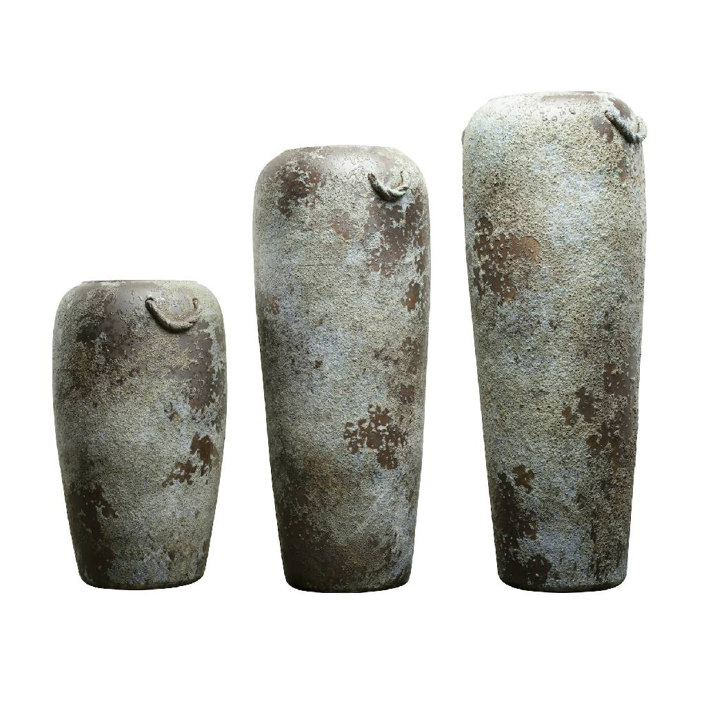 Large pottery vases - Vintage style