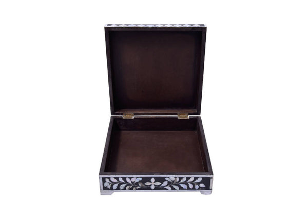 Mother Of Pearl Box - black