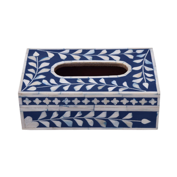 Tissue Box - Bone Inlay (7 Colors)