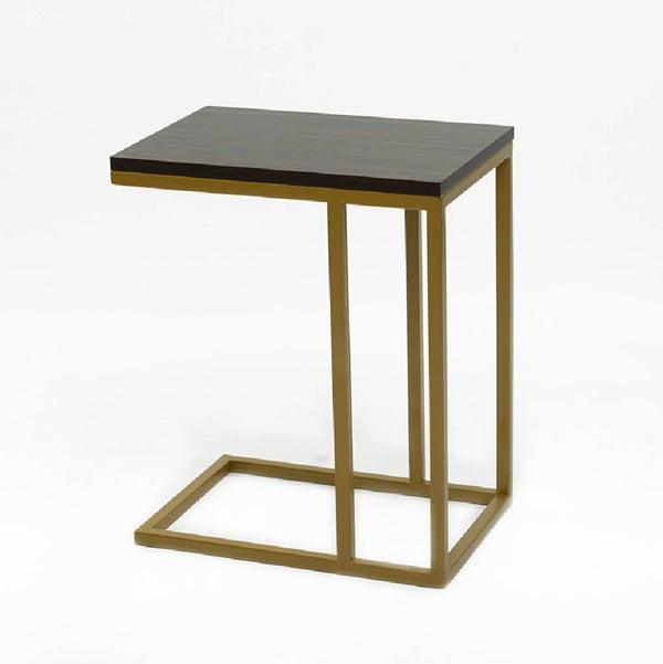 Sliding table with melamine wood