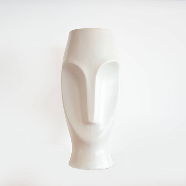 Face Vase - White ( 2 Pcs.)