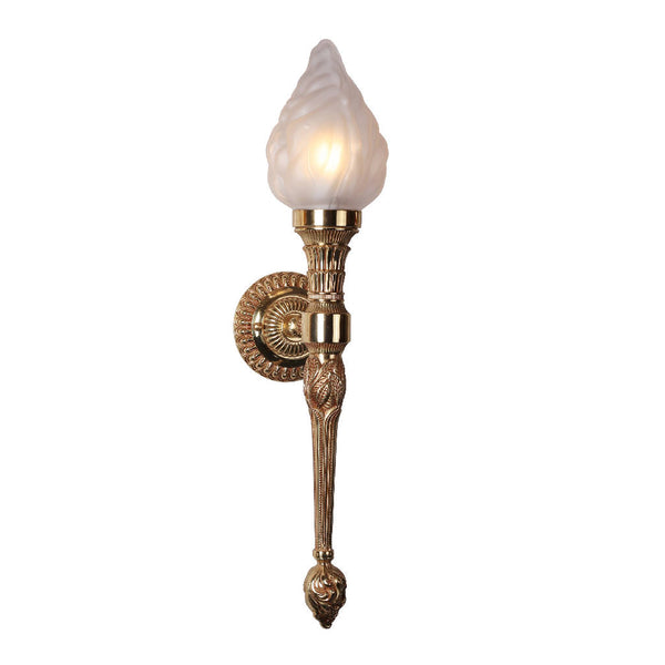 Torch Wall Light (Gold plated)