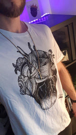 Load image into Gallery viewer, A woman's heart T-Shirt by Viviana Serra