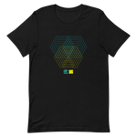 Load image into Gallery viewer, Morphing Hexagons Multiplied T-Shirt by Generated Simplicity
