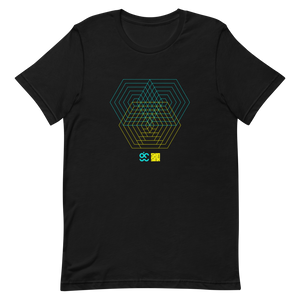 Morphing Hexagons Multiplied T-Shirt by Generated Simplicity