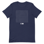 Load image into Gallery viewer, ASCII Dance White T-Shirt by Generated Simplicity
