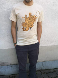 SKINSINK Electro T-Shirt, Size S, worn by Mike (Size: 168cm)