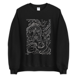 Load image into Gallery viewer, The eyes of knowing Sweatshirt by Dying Roach