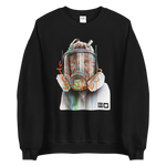 Load image into Gallery viewer, The World Turned Upside Down Sweatshirt by Akut