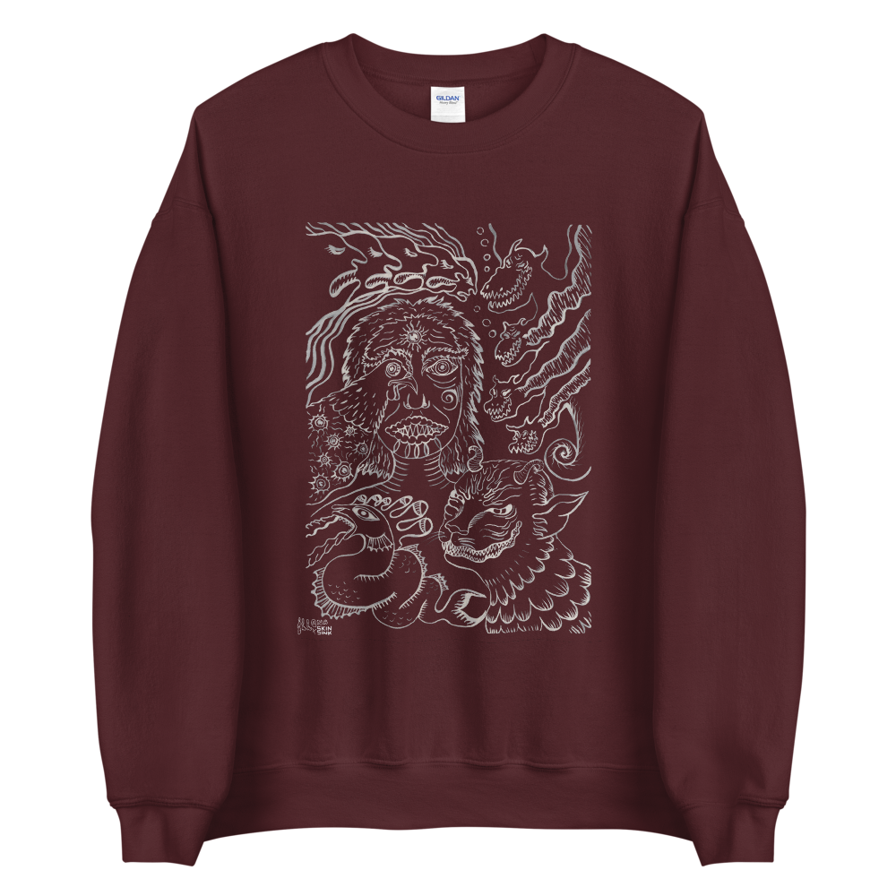 The eyes of knowing Sweatshirt by Dying Roach