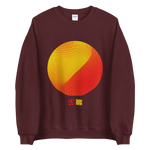 Load image into Gallery viewer, Perlin Noise 4 Sun Sweatshirt by Generated Simplicity