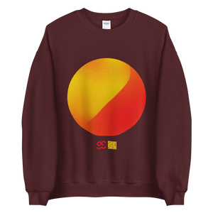 Perlin Noise 4 Sun Sweatshirt by Generated Simplicity