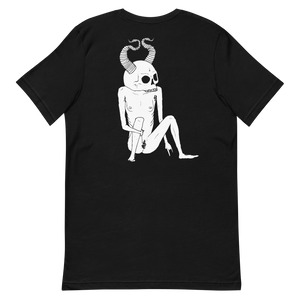 Siebdruckskull T-Shirt by Cristina Vives