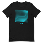Load image into Gallery viewer, Perlin Noise 1 Turquoise T-Shirt by Generated Simplicity