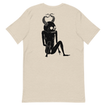 Load image into Gallery viewer, Siebdruckskull T-Shirt by Cristina Vives