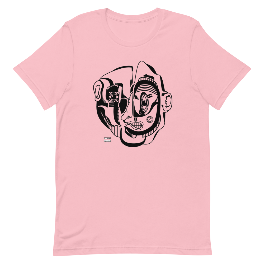 Face.1 T-Shirt by Rabatzzz