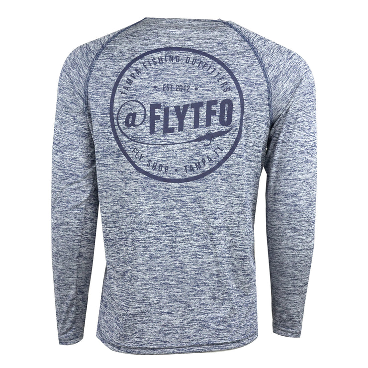 FLYTFO Navy Logo Silkscreen - Navy Blue