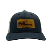 TFO Denim/Grey Leather Patch Hat