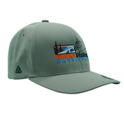 TFO Grey Embroidered TFO Logo Hat