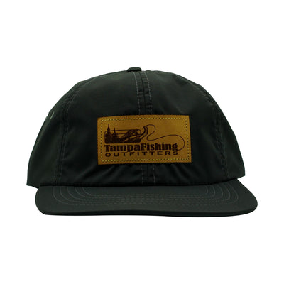 TFO Dark Grey Foam Leather Patch Hat