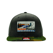 TFO Grey/Camo Patch Hat