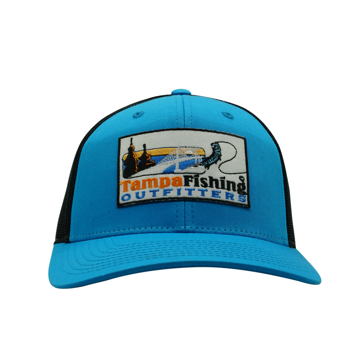 TFO Blue/Black Patch Hat