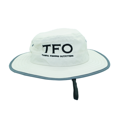 TFO Cream/ Grey Bucket Hat
