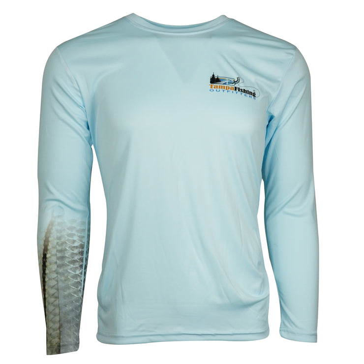 TFO Snook Mangroves L/S-Blue