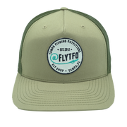 @FLYTFO Green Patch Hat