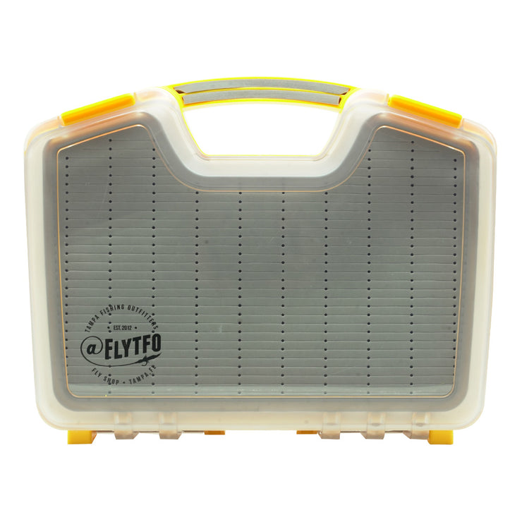 TFO Signature Yellow Fly Box
