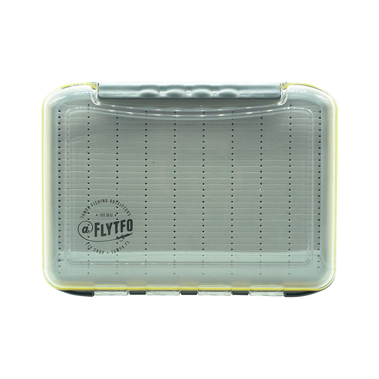 TFO Small Signature Yellow Fly Box