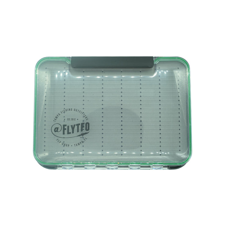 TFO Small Signature Green Fly Box