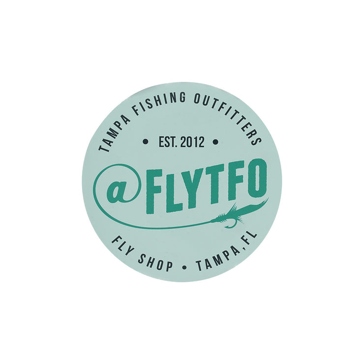 FLYTFO Logo Stickers