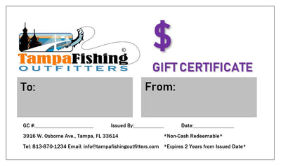 TFO Gift Certificate