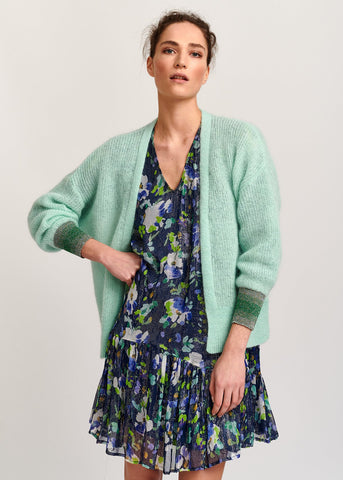 Essential Antwerp Valleroy Cardigan and Verfect Floral Dress