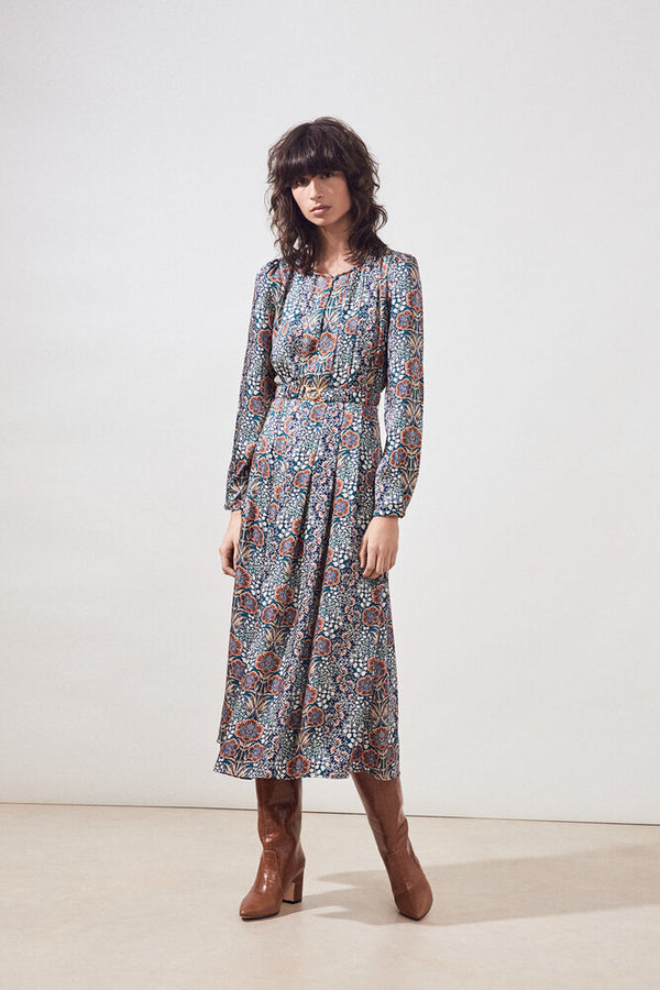 Carrine Floral Print Dress