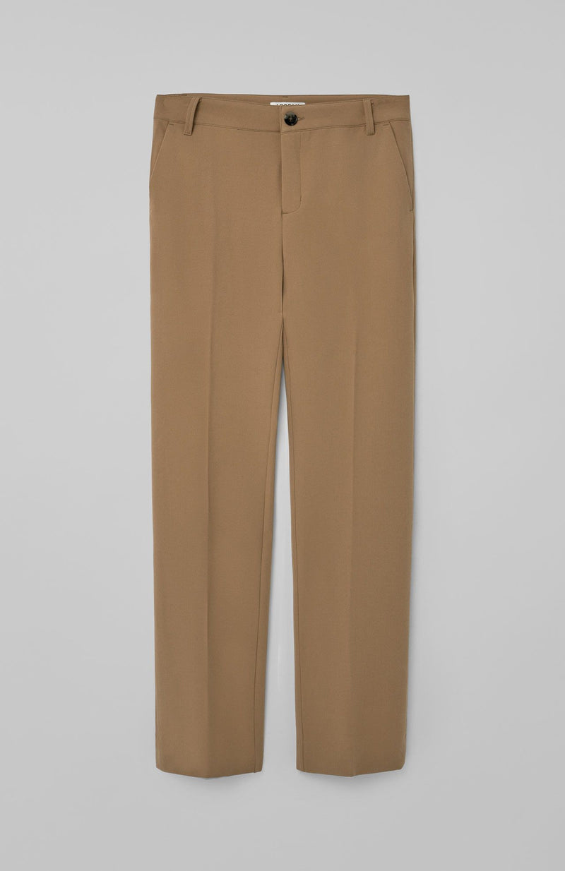 Loreak Lan tailored trousers in camel.